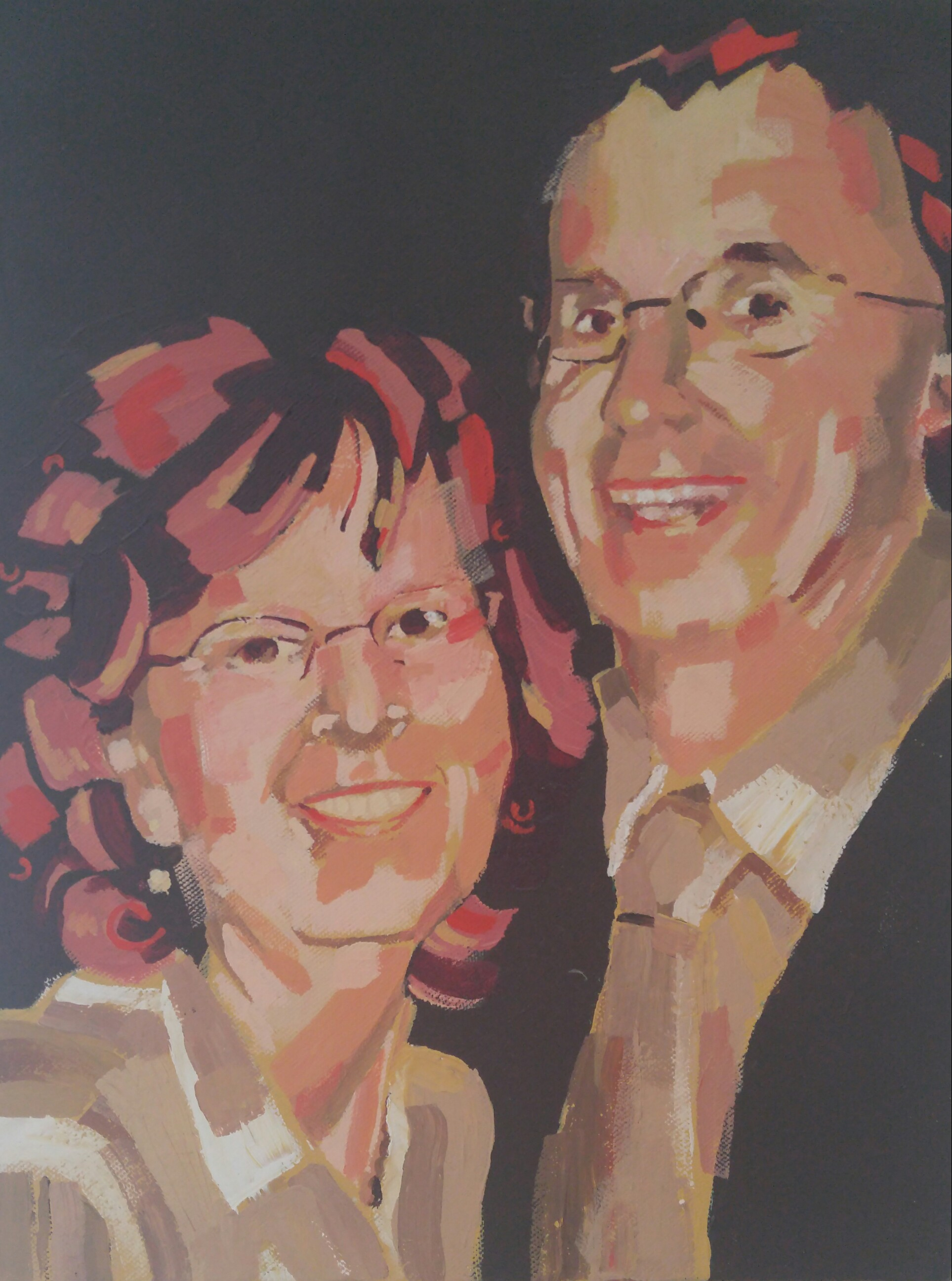 Mom and Dad 12x16 2010