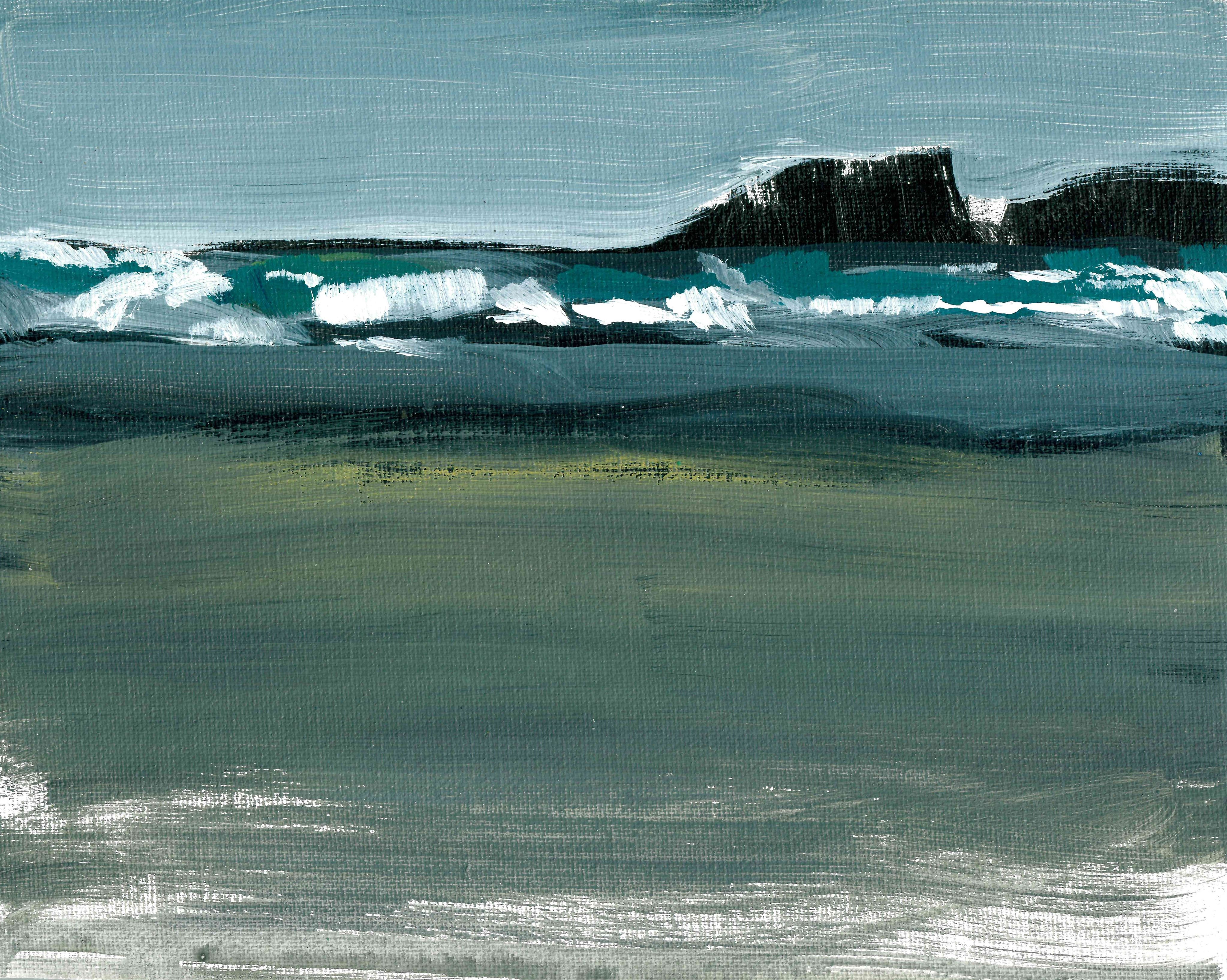 Tide Going Out 10x8 2018