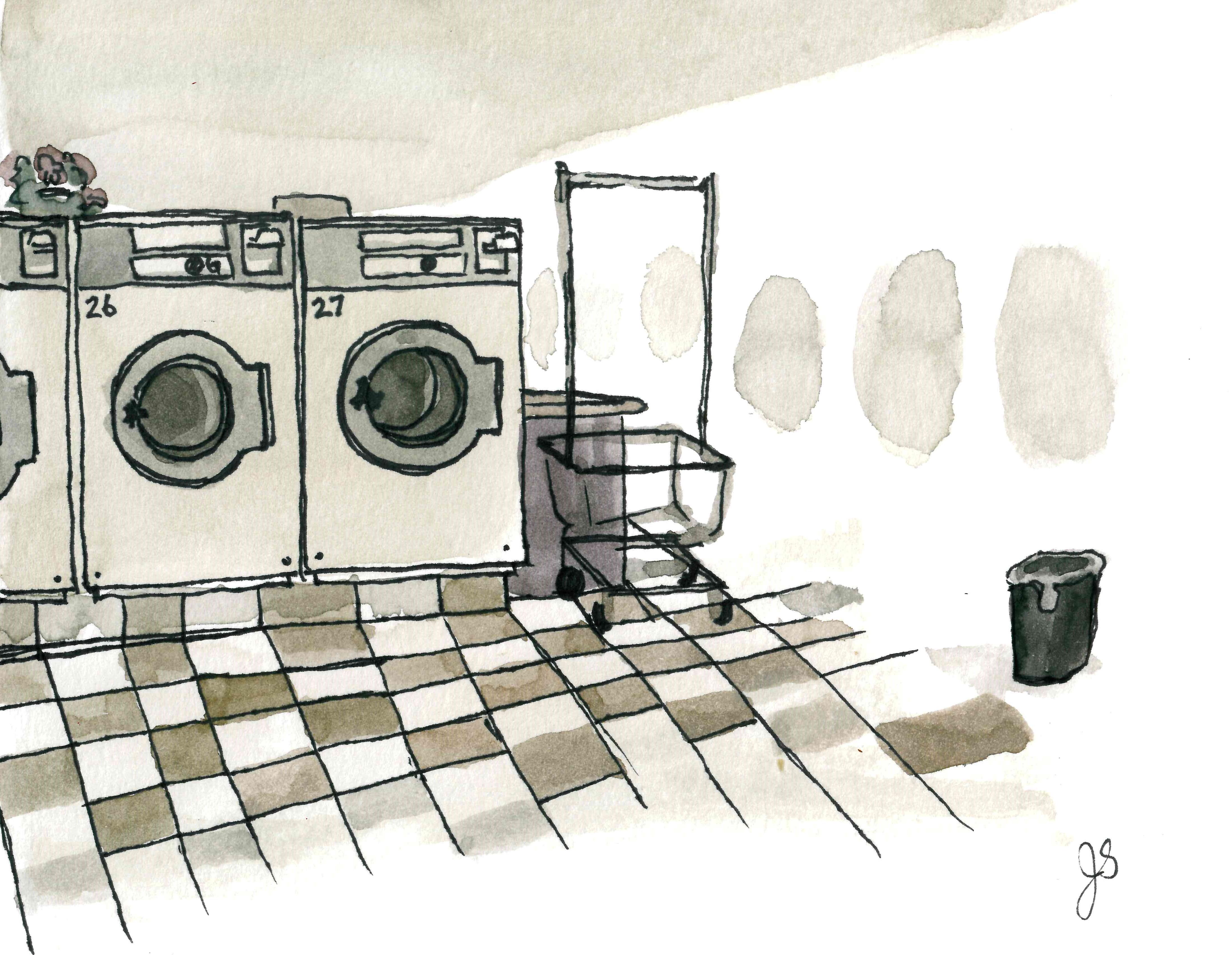 Toronto Laundromat 4x6 2017
